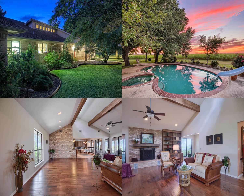 Austin TX acreage home for sale