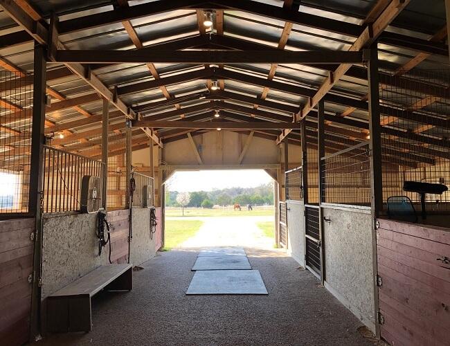 751 Silver Creek Leander Texas Horse stalls